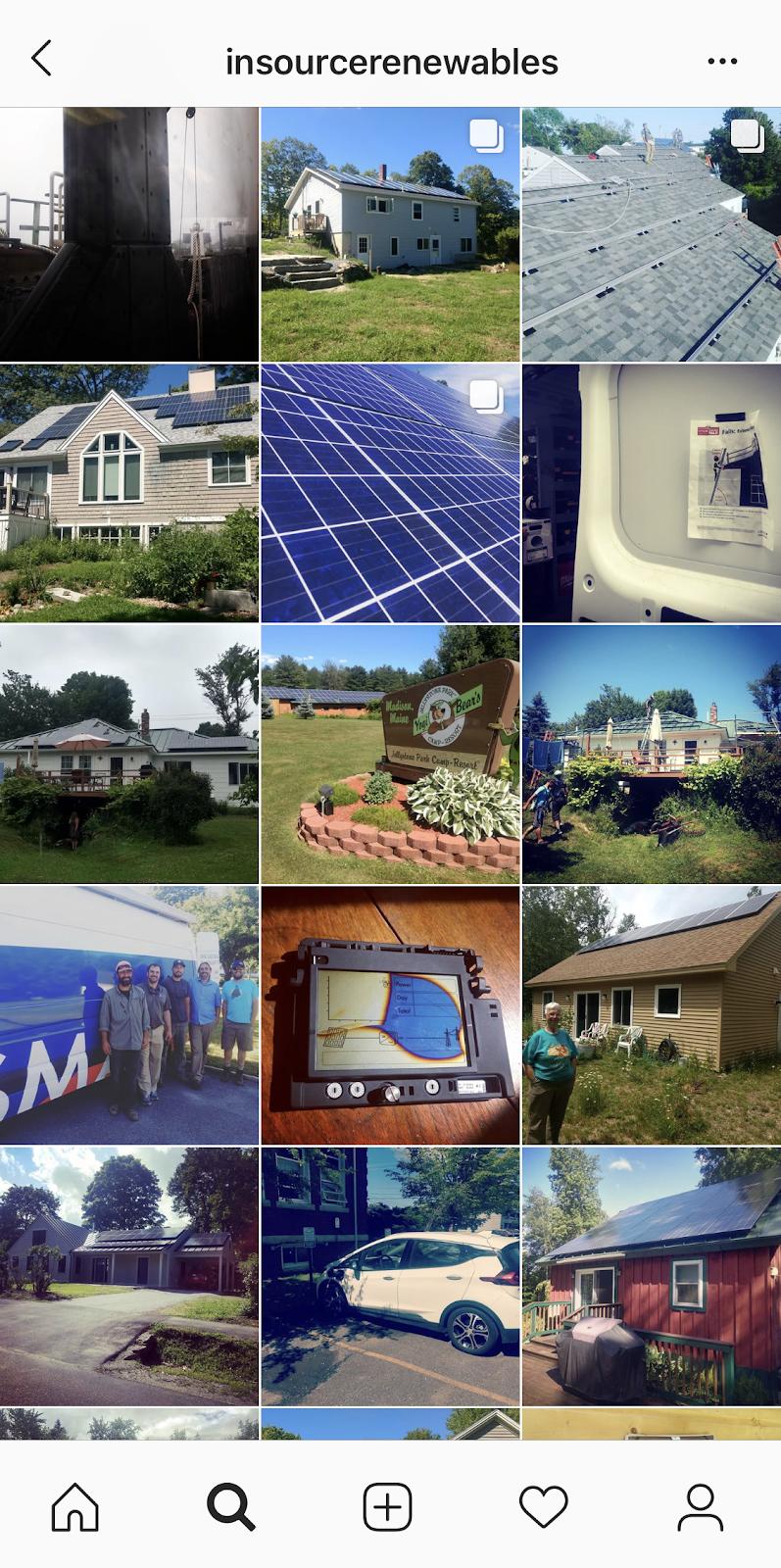 instagram, energy circle, blog, maine, me