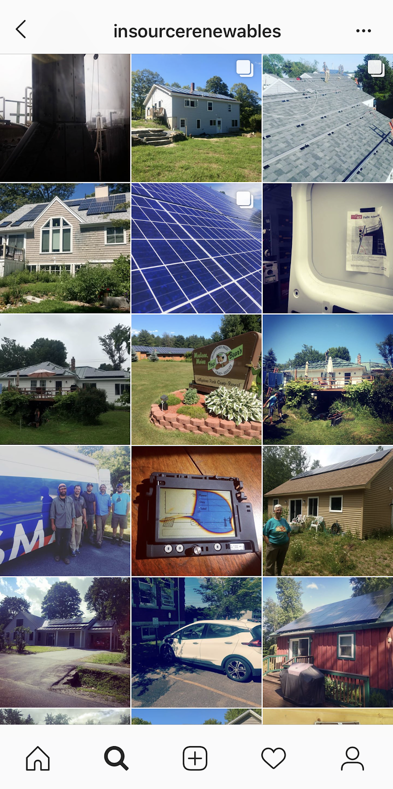 Insource Renewables Instagram Feed