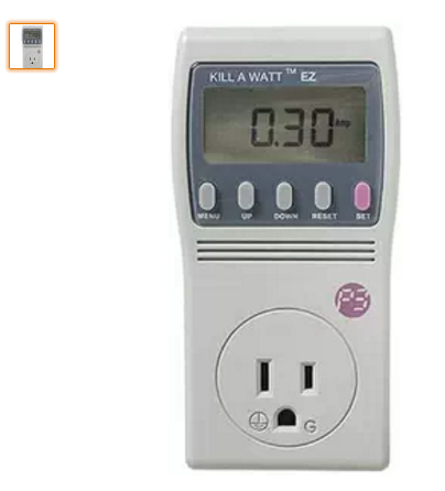 Kill a Watt EZ Electricity Monitor