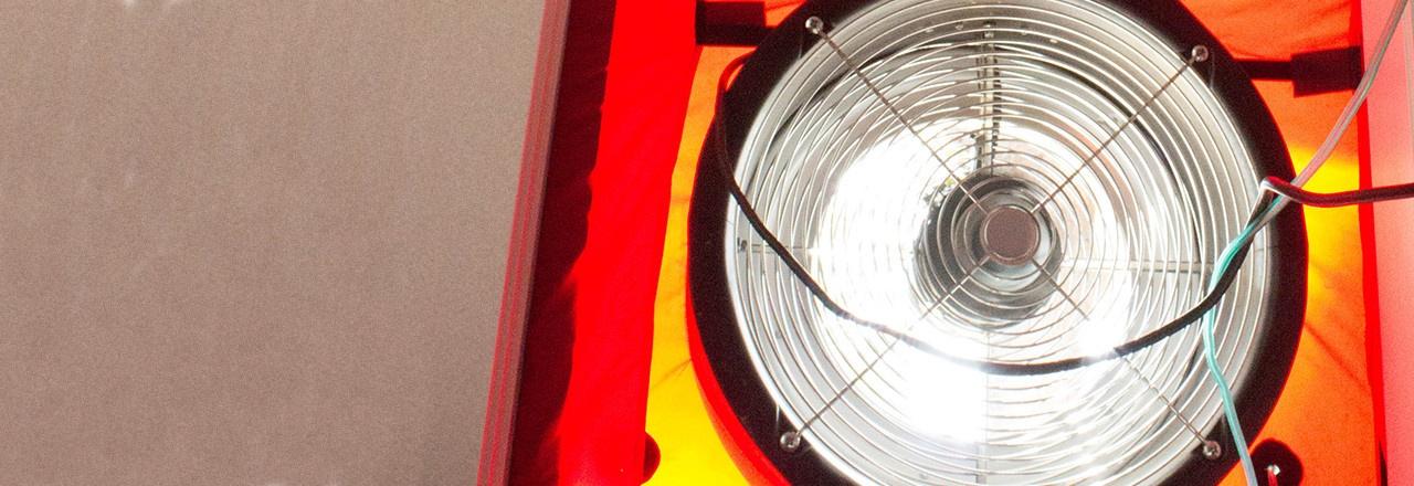 Blower Door Fan