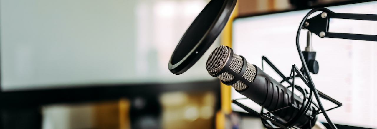mic for podcasting