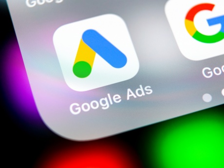 Google Ads App Image on Mobile Device