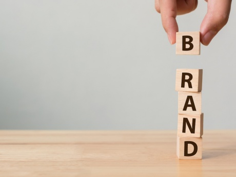 building blocks that say brand